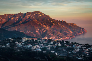 Maiori and Ravello from Scala | by ddpadilha