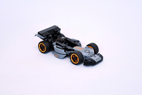 Lego McLaren Senna 75892 MOC - Forgotten Champion (Free Building Instructions) | by makushima