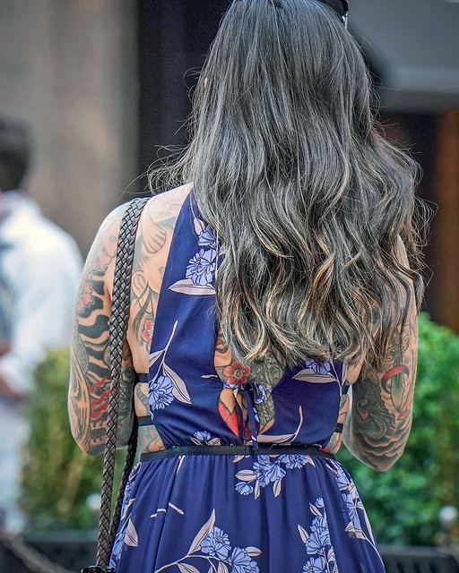 Tattoo - Japanese-Inspired Back and Arms