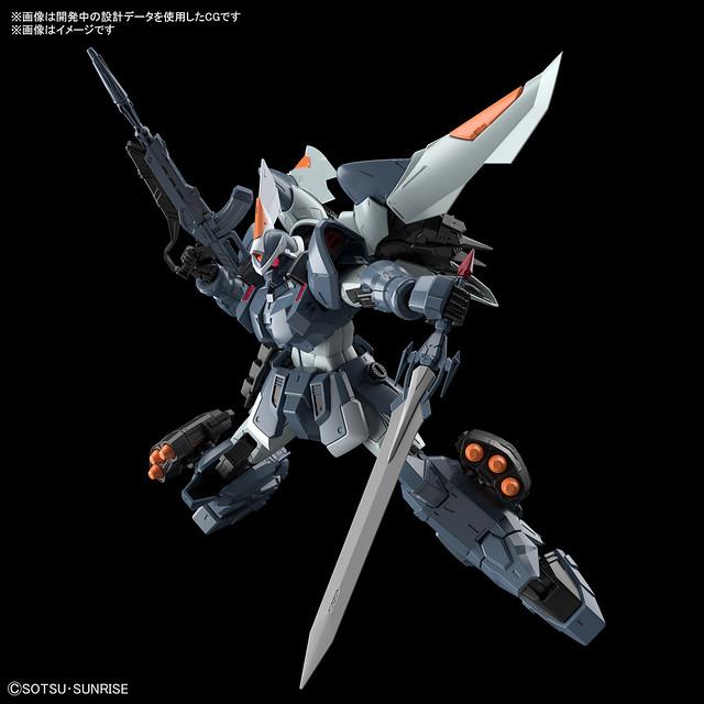 宇宙紀元首款量產MS「MG 1/100 基恩」04 月發售 附有「重斬刀」等豐富武裝!
