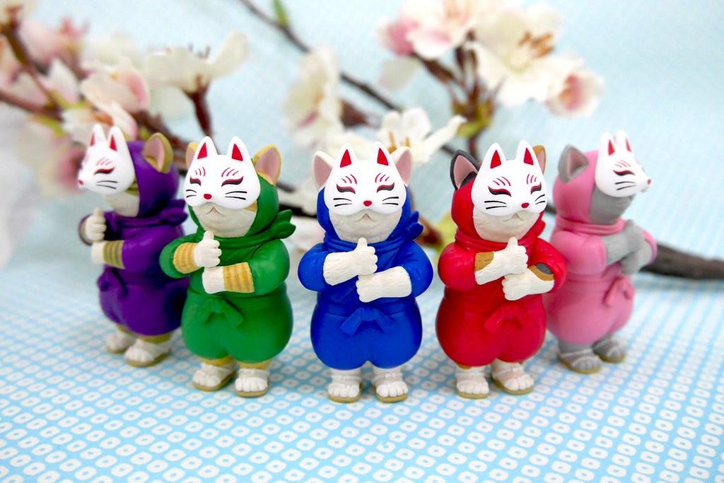 奇譚俱樂部「忍者貓咪」轉蛋(ニンジャ・キャット)難以抵禦的超可愛喵之忍法!