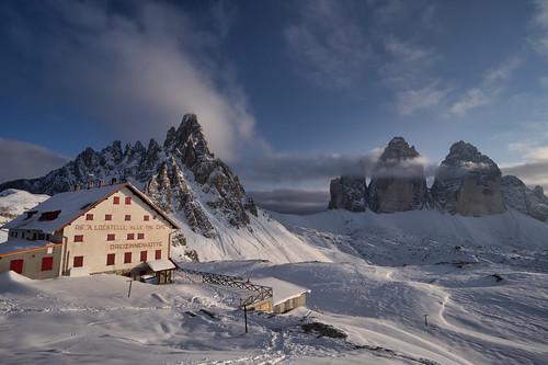 Dreizinnenhütte, Dolomites