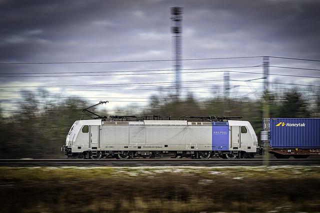 Muessen Wiese Railpool 186 432-1 Metrans CT mz
