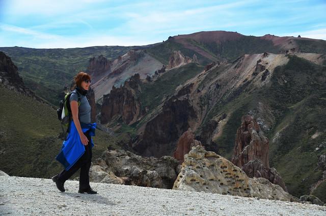 Hiking near Chile Chico, Chile