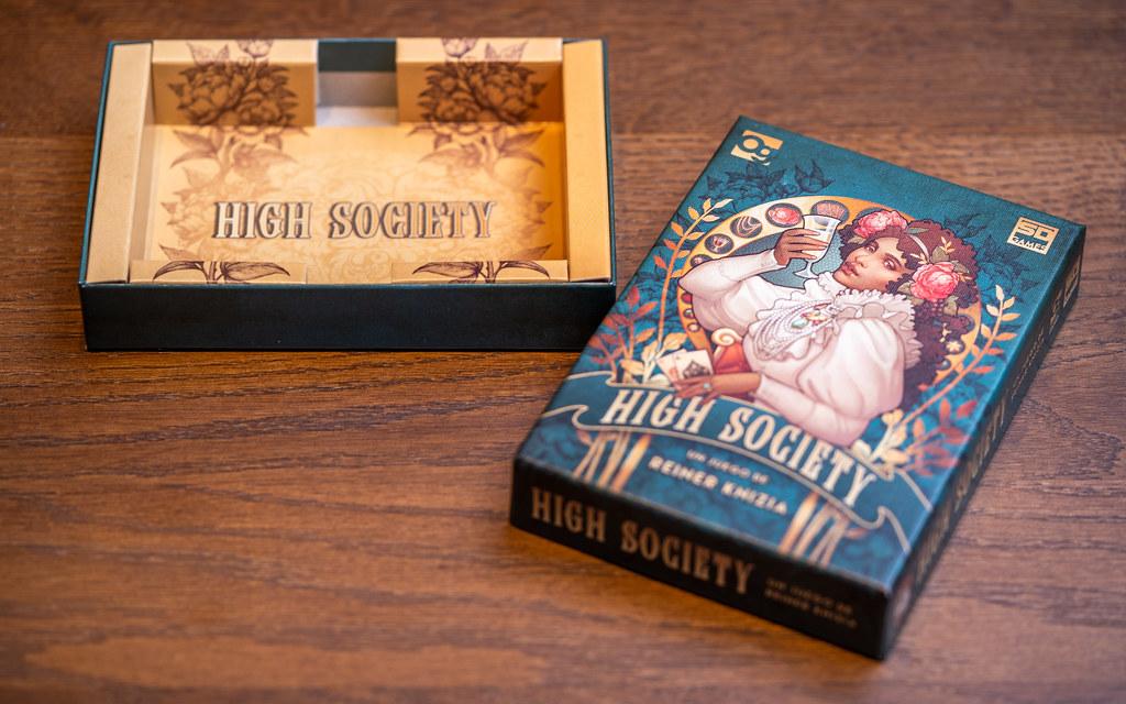High Society boardgame juego de mesa