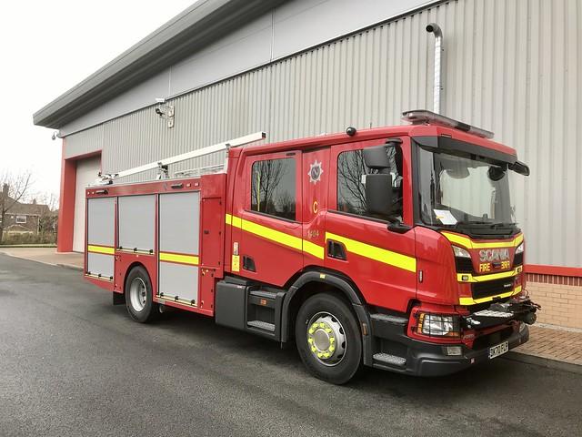 New Scania Fire Engine