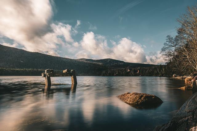 Finding stillness ...