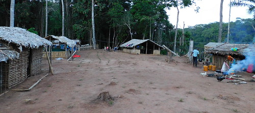 view of the camp Kakongo, Dec 2020
