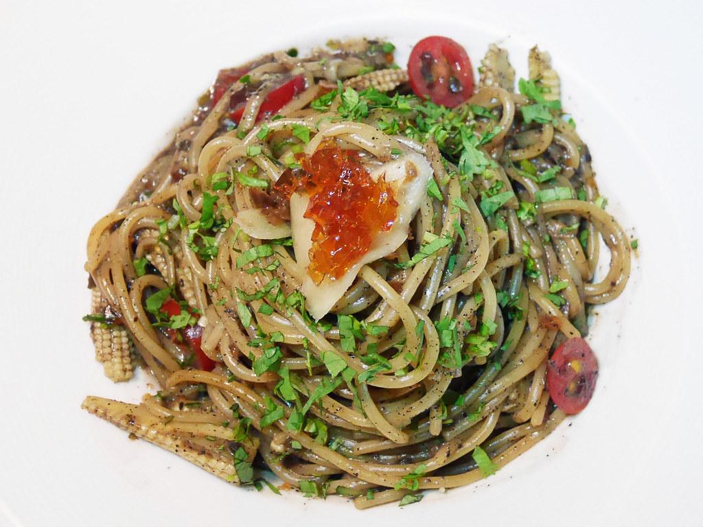 淡水老街好吃餐廳推薦之間茶食器素食義大利麵披薩咖啡廳蔬食 (2)