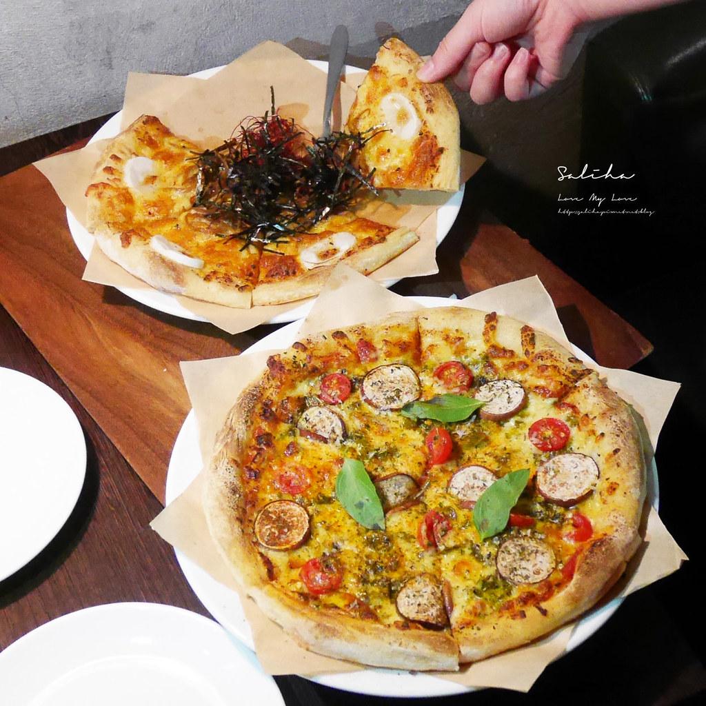 淡水老街ig美食推薦之間茶食器素食料理蔬食披薩義大利麵甜點下午茶咖啡廳 (1)