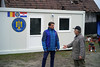 """Dragan has received a housing container equipped with a heater, offered by Romania and delivered through the EU Civil Protection Mechanism.   """"Most probably I will live here [in the container] until the old house is demolished and a new one is built. At least I feel safe here,"""" says Dragan.  © European Union, 2021 (photographer: Lisa Hastert)"""