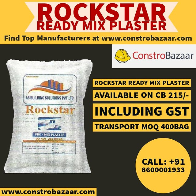 Get Ready Mix Plaster At Constrobazaar