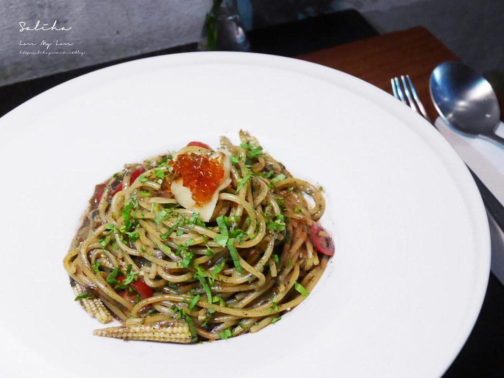 淡水老街ig美食推薦之間茶食器素食料理蔬食披薩義大利麵甜點下午茶咖啡廳 (2)