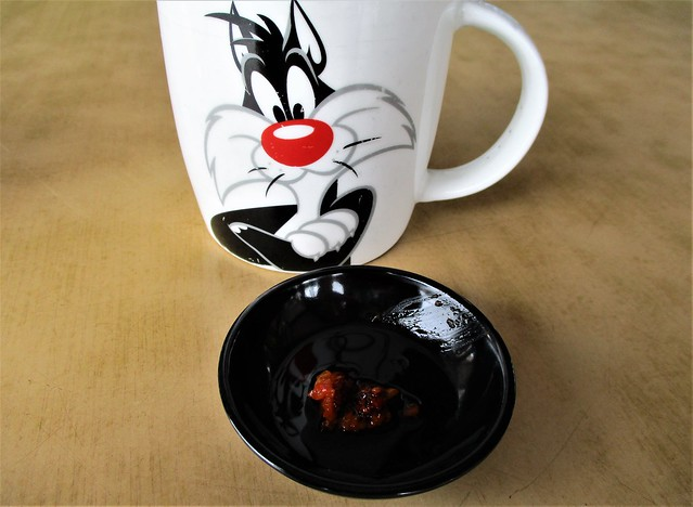 Sylvester & the chili dip