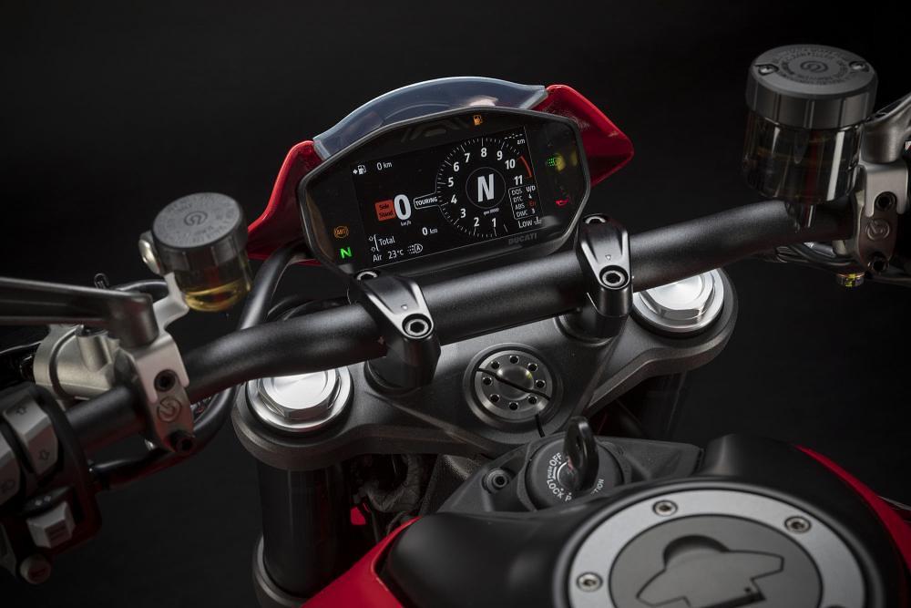 Ducati Monster Plus 2021 Panel