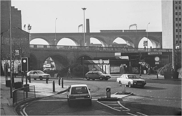 Stockport Viaduct 1988.