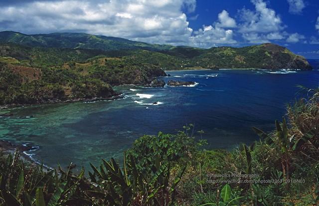 Catanduanes Island, Puraran coast panorama