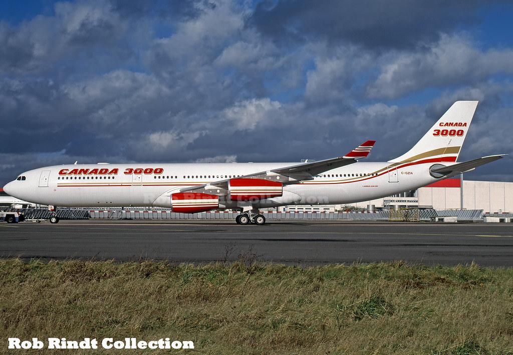 Canada 3000 A340-313 C-GZIA