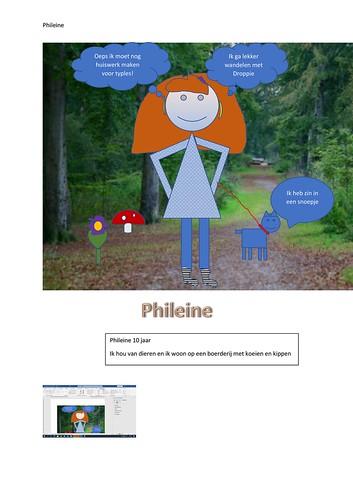 Vormentekening Phileine