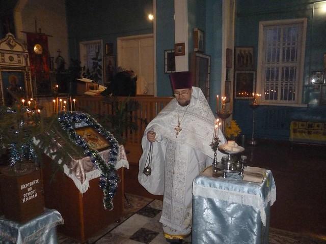 Праздник Рождества Христова в Ильинском храме 07.01.2021