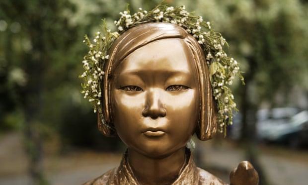 南韓首爾法院判決日本必須賠償慰安婦。(圖片來源:Markus Schreiber/AP)