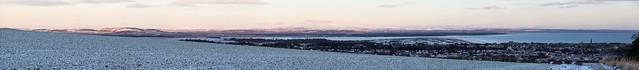 Snowy St Andrews Panorama