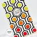 Hex card #1 closeup