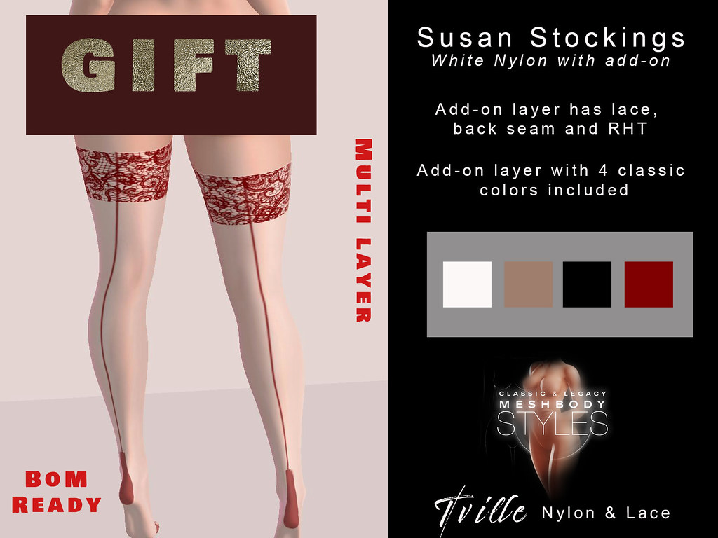 Tville Susan Stockings GIFT