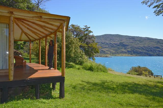 Cabin at Guadal, Chile