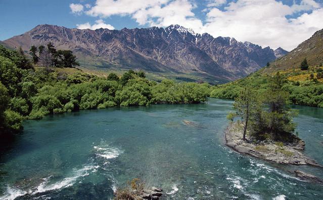 Kawarau River, South Island, New Zealand