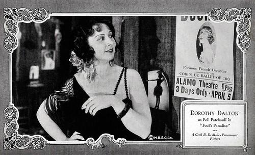 Dorothy Dalton in Fool's Paradise (1921)