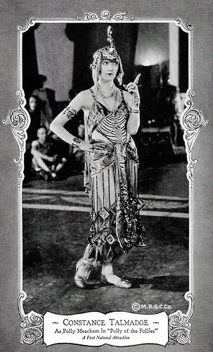 Constance Talmadge in Polly of the Follies (1922)