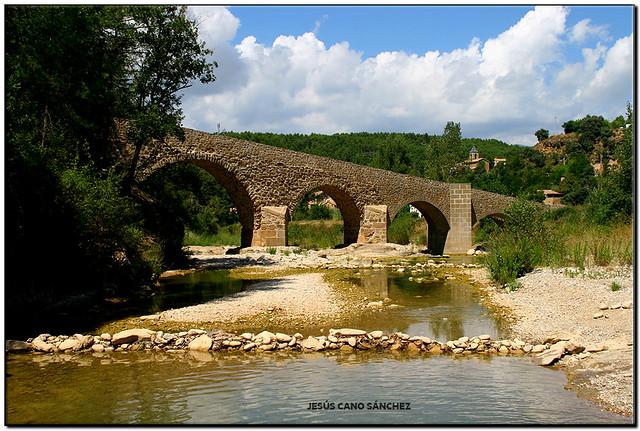 El pont d'Ogern (l'Alt Urgell)