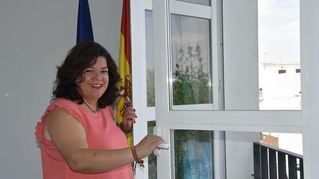 Alcaldesa de Huévar, María Eugenia Moreno