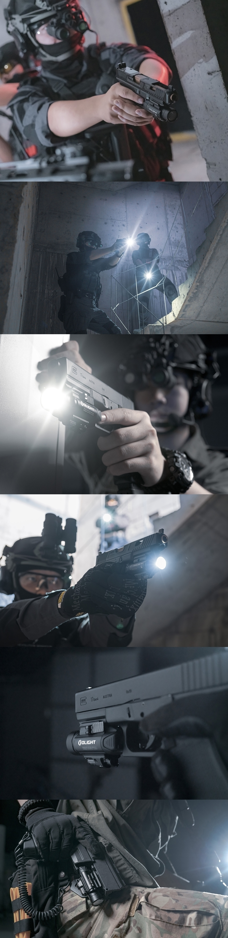 Baldr IR 1350流明 紅外線 瞄準器 白光LED 戰術 槍燈 850nm 0.78mW 紅外線光束 錸特光電 OLIGHT 台灣總代理-14