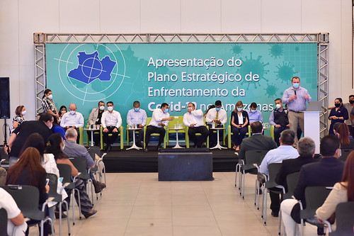 11-01-2021 Prefeito David Almeida (Avante) participa da Apresentação do Plano Estratégico de Enfrentamento da Covid-19 no Amazonas