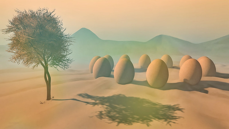 The Valley of the Pondering Eggs