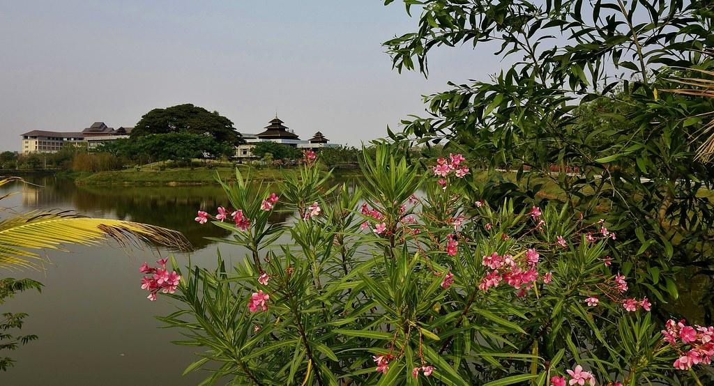 MYANMAR ,Burma - In unserem Hotel in der Hauptstadt  Naypyidaw, 78129/13305