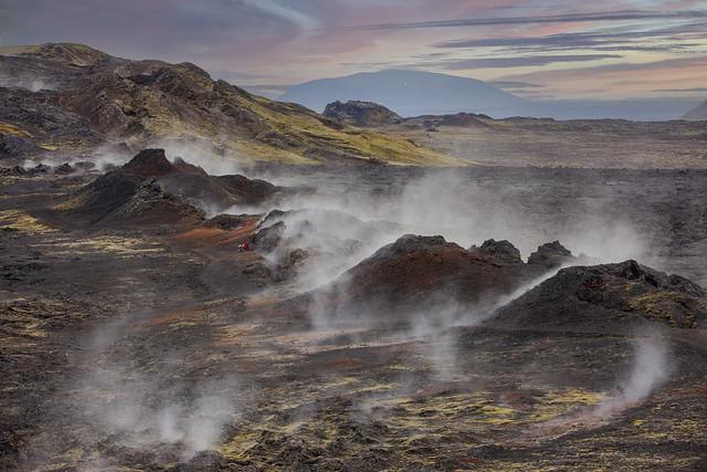 Krafla Volcano, Iceland