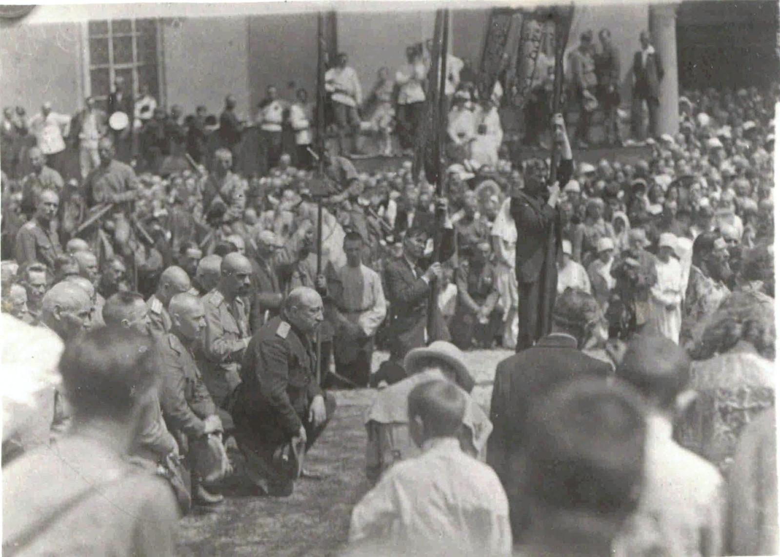 1919. Панихида в Харькове