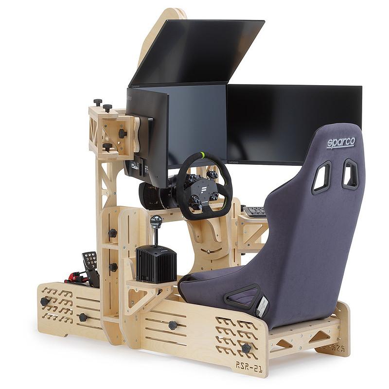 RSR-21 Wooden Sim Racing Rig