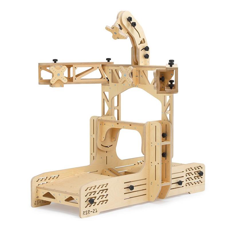 RSR-21 Wooden Sim Racing Rig full