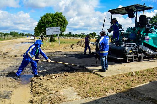 11.01.2021 Cemitério Nossa Senhora Aparecida recebe ação integrada da Prefeitura de Manaus
