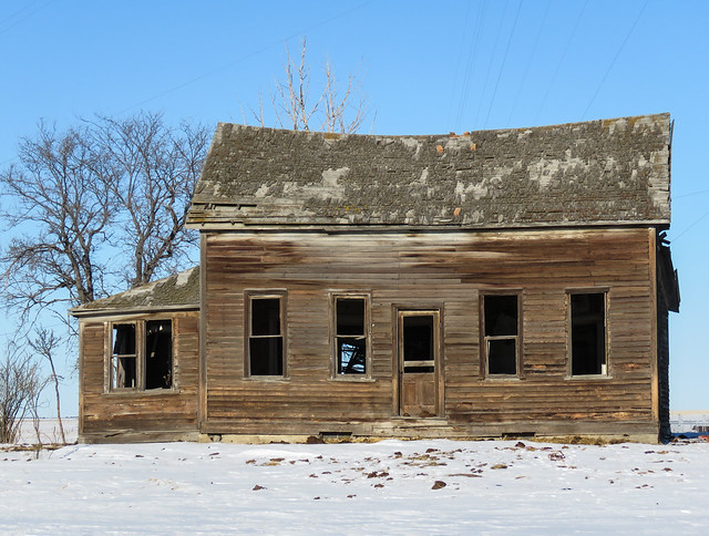 Old house with the beehives