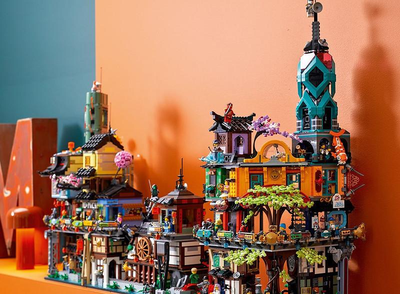 LEGO NINJAGO City Combined