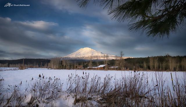 Quiet Mt. Adams