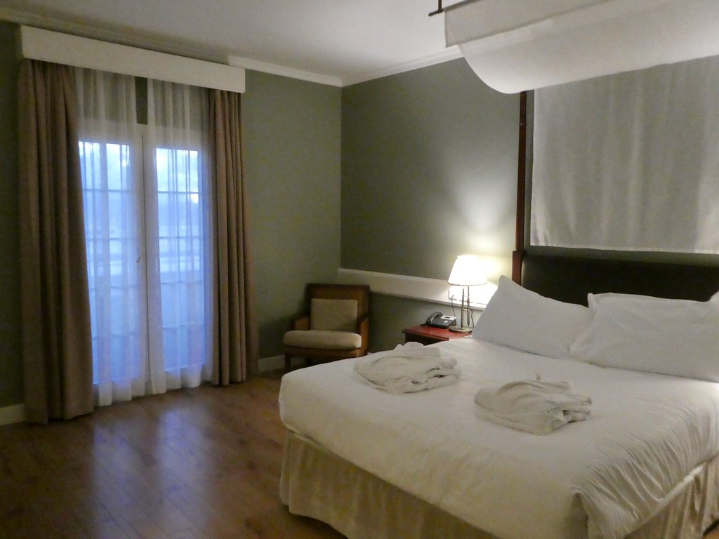Spacious rooms at the Rock Hotel, Gibraltar