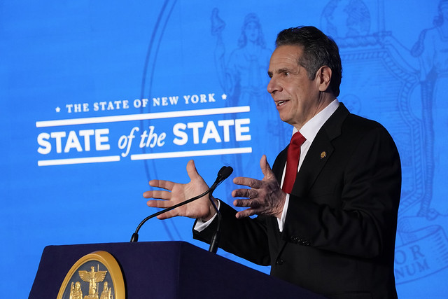Governor Cuomo Outlines 2021 Agenda: Reimagine   Rebuild   Renew