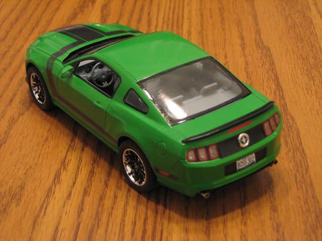 2013 Boss 302 Mustang Left Rear