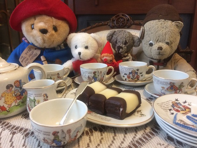 Paddington and Scout Celebrate Marzipan Day 2020